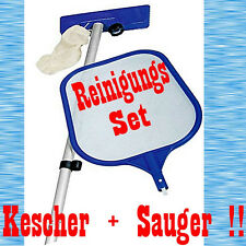 POOL REINIGUNGS SET KESCHER + SAUGER REINIGUNGSSET