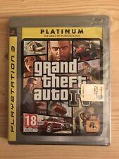 GTA Grand Theft Auto IV 4 Platinum Ps3 Playstation 3 Sigillato