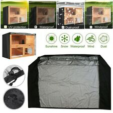 Rabbit Hutch Cover Weather Rain Water Proof Heavy Duty Pig Pet without Cage