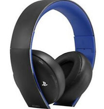 Sony Playstation Gold Wireless Stereo Headset for PS4, PS3, PS Vita / BRAND NEW