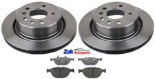 FOR BMW E60 5 SERIES 535D M SPORT FRONT BRAKE DISCS & PADS SET *NEW*