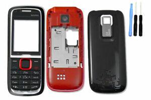 New for Nokia 5130 Full Housing Body Cover Casing Keypad Keyboard Black Red Blue