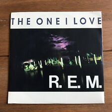 "R.E.M. - The one I love   7"" Vinyl"