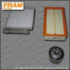 KIT di servizio per RENAULT CLIO MK3 1.5 DCI FRAM Aria Olio Cabina filtri (2005-2014)