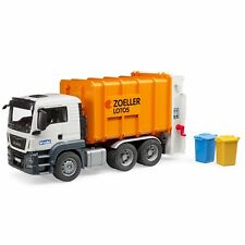 BRUDER 03762 Man TGS Rear Loading Garbage Truck