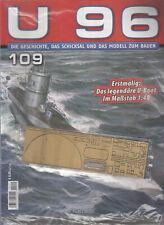 U96 - Ausgabe Nr. 109 Modellbau Hachette / OVP