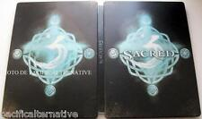 SANS JEU (NO GAME) - coffret SACRED 3 en metal steelbook collection ps3 x360 TBE