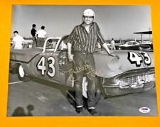 RICHARD PETTY SIGNED 11X14 NASCAR PHOTO PSA/DNA CERTIFIED POSE 2