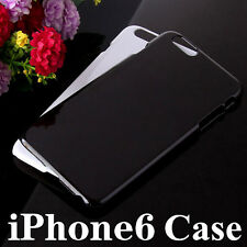 Glossy Crystal Solid Color PC Plastic Hard Case Cover For Iphone Samsung Models