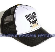 RED MONKEY Bullet Club 008 RM1204 Limited Edition New White Fashion Trucker Hat