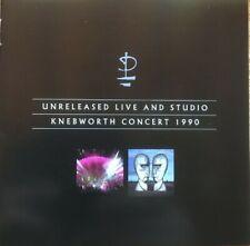 "PINK FLOYD : ""Unreleased Live + Kneworth 1990"" (RARE 2 CD)"