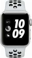 Apple Series 3 Nike+ 38mm Aluminum Case Smartwatch  - Silver (MQKX2LL/A)