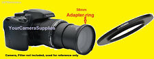 RING ADAPTER to CAMERA FUJI FINEPIX S8600 S8650 S8630 58mm/RING FOR FILTER ONLY