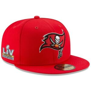 Tampa Bay Buccaneers New Era Super Bowl 55 LV Champions 59FIFTY Fitted Hat