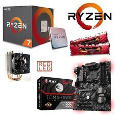 Bundle AMD Ryzen 7 1800X 8x4,00GHz+16GB DDR4 PC2400 MSI B350 Tomahawk