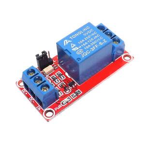 Relais Modul 1-Kanal 5V Optokoppler Relaiskarte Relaisplatine Arduino 230V