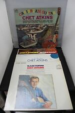 Chet Atkins Class Guitar Solo Flights Workshop Caribbean Guitar 4 Record Lot