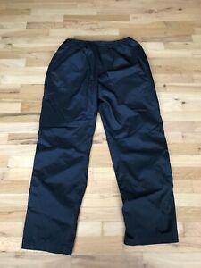 DryJoy by FootJoy Men's Black Golf Wind Rain Pants Size: L