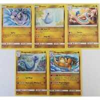 5er Set Pokemon 147/236 bis 151/236 Dratini, Dragonair, Dragonite EN NM/Mint