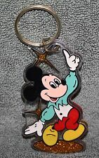 NICE VINTAGE DISNEY DANCING MICKEY MOUSE KEYCHAIN MONOGRAM PRODUCTS NOS