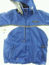 Phenix Ski Jacket in Men's Medium Royal Blue & White
