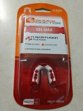 Shock Doctor Gel Max Fruit Punch Flavor Fusion Youth Sports Mouthguard Football