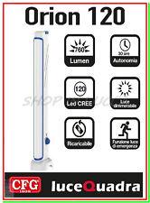 luce emergenza casa led lampada torcia ricaricabile portatile ORION 120 dimmer