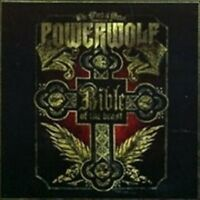 "POWERWOLF ""BIBLE OF THE BEAST"" CD 12 TRACKS NEW!"