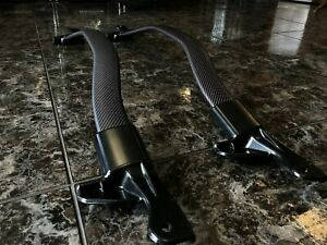 2012-15 Chevrolet Camaro ZL1 Matte/Dry Carbon Fiber Tower Brace Strut Bar