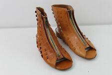 MAISON MARTIN MARGIELA Brown Leather Ankle Boots size Eu 38 AA