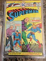 SUPERMAN 292 (Lex Luthor origin, Superboy, Curt Swan art) 1975