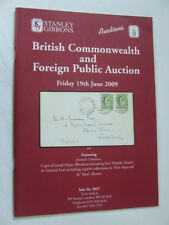 Stanley Gibbons Stamp Auction Catalogue - British Commonwealth - June 2009