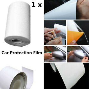 9.8M*10CM Clear Car Protective Film  Vinyl Bras Door Edge Paint Anti-Scratch x1