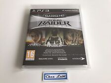 The Tomb Raider Trilogy - Classics HD - Sony PS3 - FR - Neuf Sous Blister