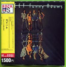 Sweet FANNY ADAMS 11-track Japan mini-LP CD factory sealed w/OBI Strip 22P2-2653