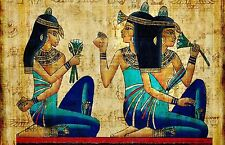 Egyptian Papyrus - Beauiful Wall Poster ( 34 in  x 22 in )  - Fast Shipping