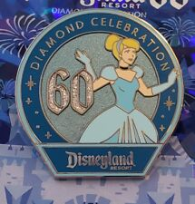 Disney Girls Mystery Pk Pin 109288 Dlr 60th Diamond Celebration Cinderella Only