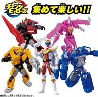 NEW BANDAI Kikai Sentai Zenkaiger Change Heroes Series set of 5 from JAPAN F/S