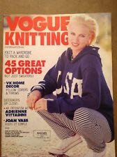 VOGUE KNITTING - SPRING / SUMMER 1996 - GREAT CONDITION - SEE PATTERN PICS!