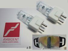 2x Ersatz Halogen Lampe Birne Leuchtmittel 24V 150W für Faro, Dental