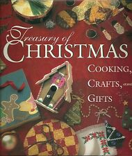 Treasury of Christmas Cooking, Crafts and Gifts 1995 Hardcover U12