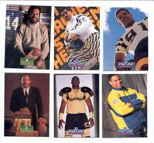 1991-92 PL San Diego Chargers Set JUNIOR SEAU DAN FOUTS KELLEN WINSLOW BOB ROSS
