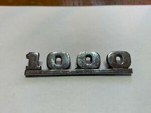 Austin Mini Cooper 1000 Badge