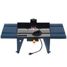 Aluminum Electric Router Table Wood Working Craftsman Tool Benchtop New