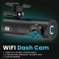 Car Dash Cam Full HD 1080P WIFI Hidden DVR Camera Recorder Night Vision G-Sensor