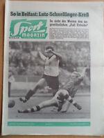 SPORT MAGAZIN KICKER 40A - 26.9. 1960 Viktoria-1.FC Köln 0:3 Stuttgart-1860 1:2