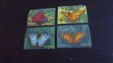 ST KITTS 2010 SG 987-990 BUTTERFLIES MNH