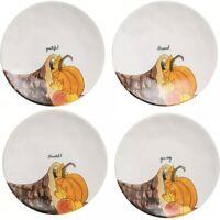 """Rae Dunn Thanksgiving Dinner Plates - Set of 4, 11"""""""