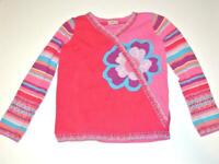 Hanna Andersson Sweater Pink flower 140 10 years
