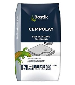 BOSTIK 25KG CEMENTONE CEMPOLAY SELF-LEVELLING COMPOUND TROWELS FEATHER EDGE